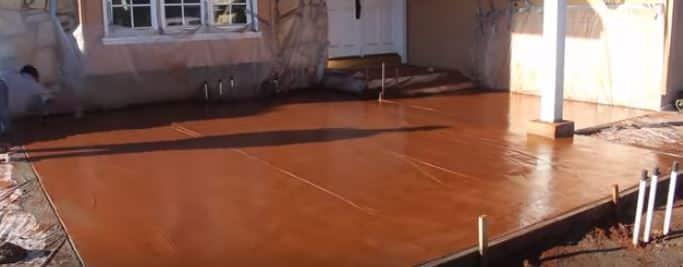 Concrete Services - Stamped Concrete Dyer